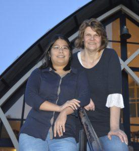 Marina en Janike